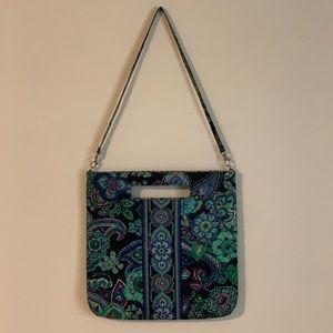 Vera Bradley Blue Rhapsody Handbag/Tote/Tablet